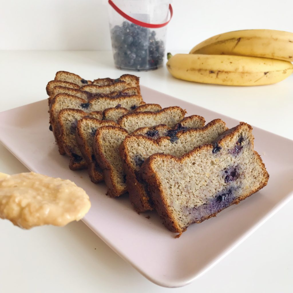 Fit chlebek bananowy