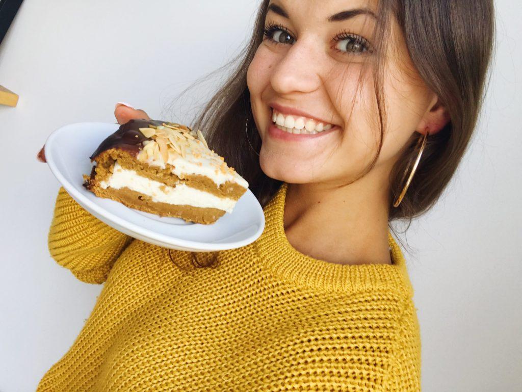 Fit ciasto dyniowe
