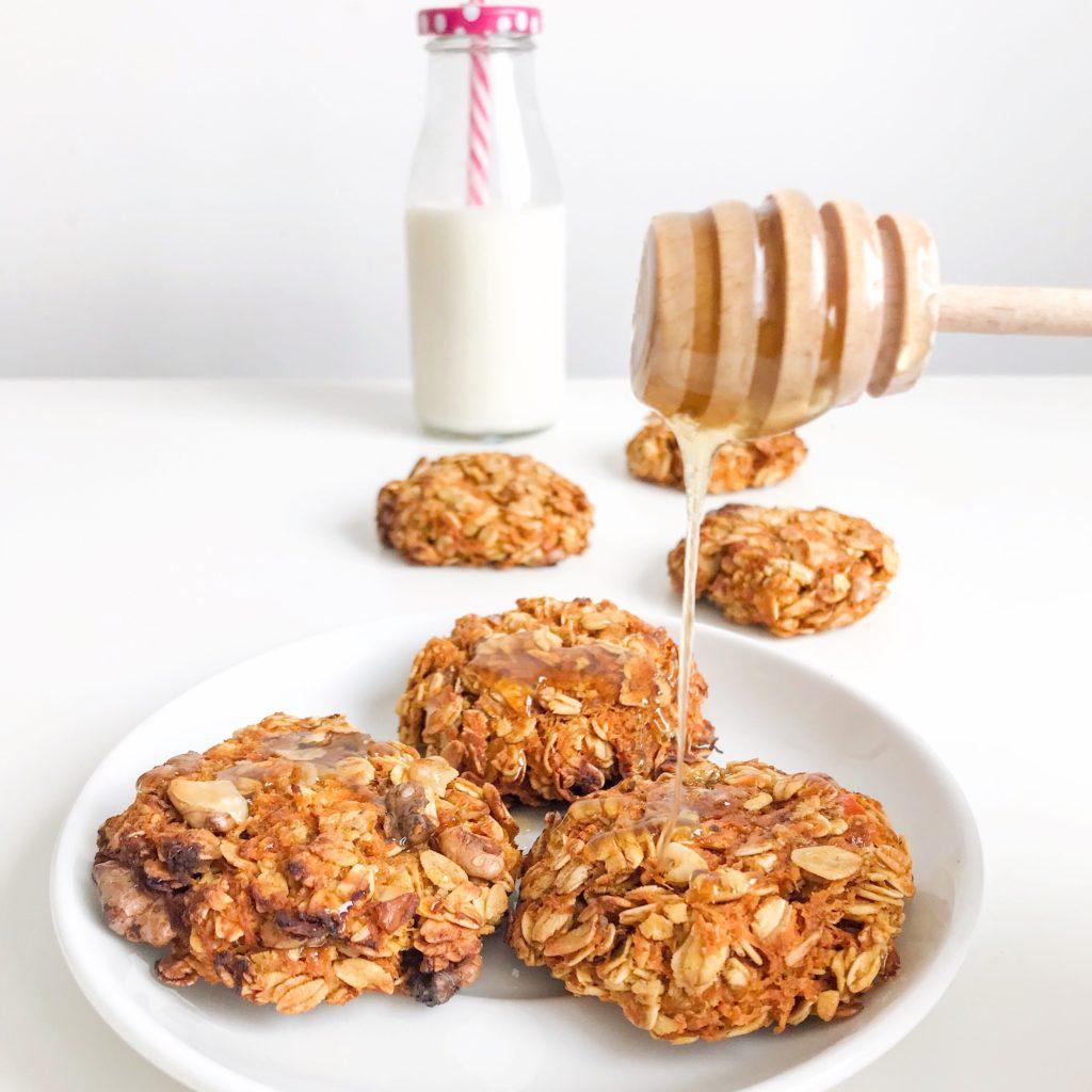 Zdrowe marchewkowe ciasteczka