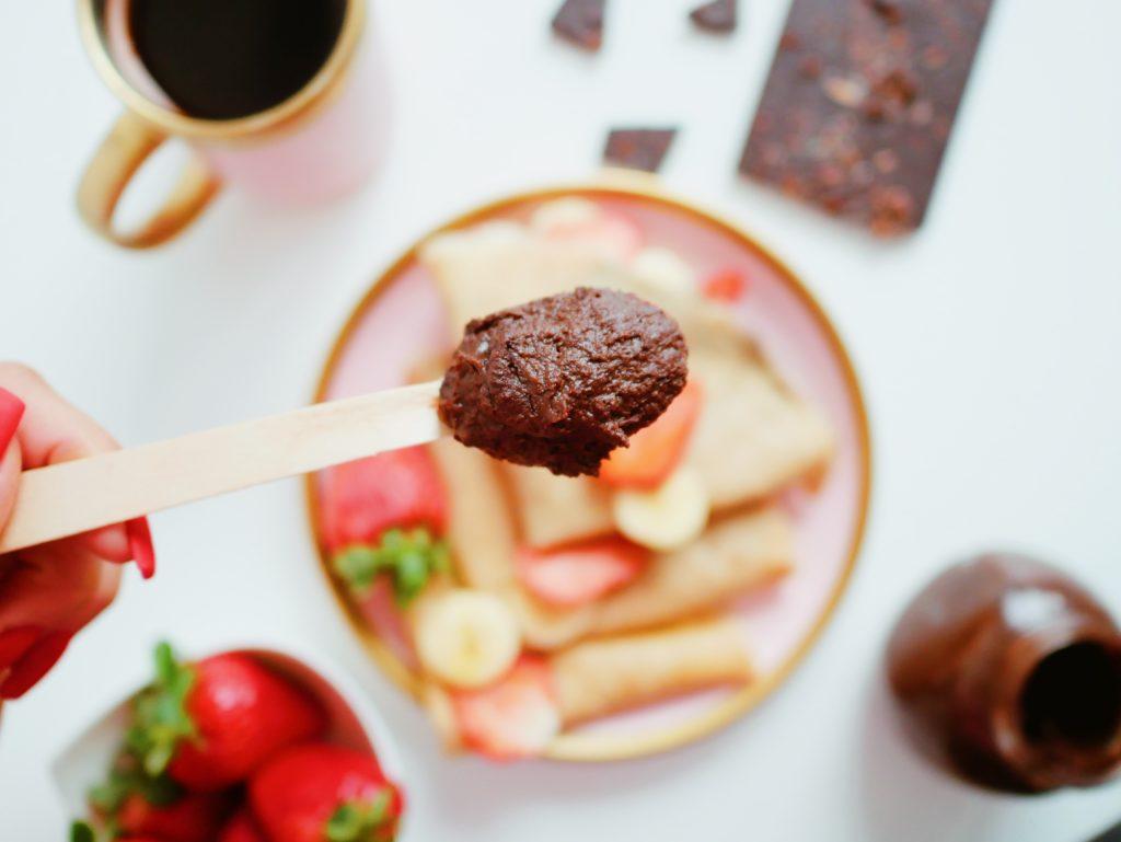 Wegański krem czekoladowy