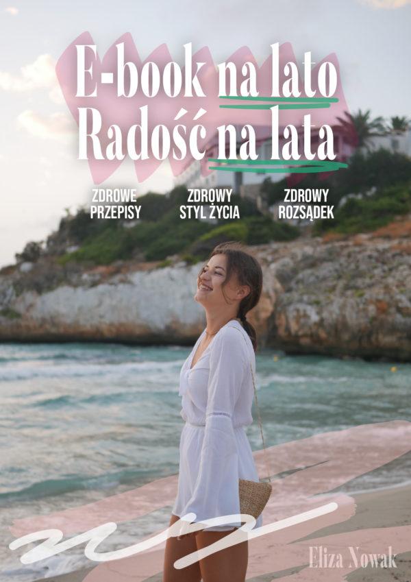 Okładka e-book na lato radość na lata