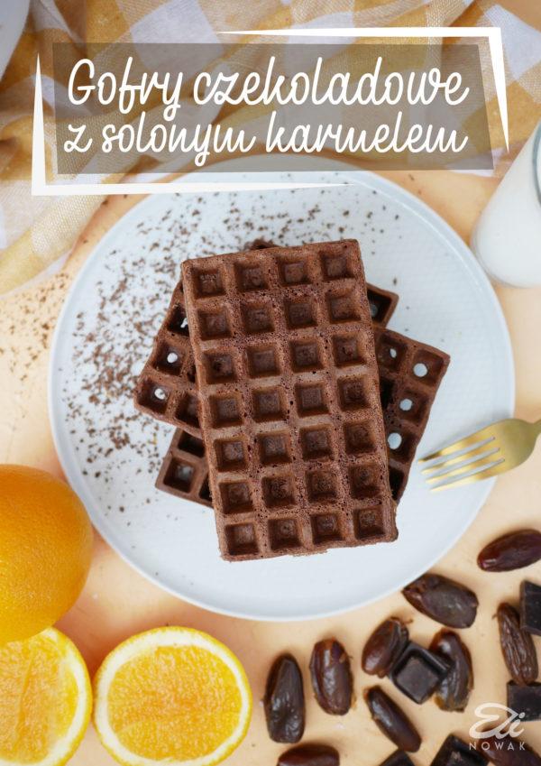 Elinowak gofry czekoladowe